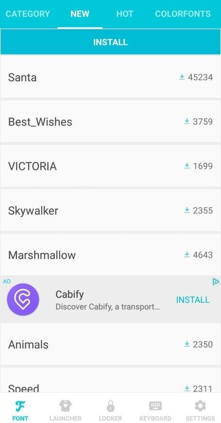 HiFont 7 7 7 - Baixar para Android APK Grátis