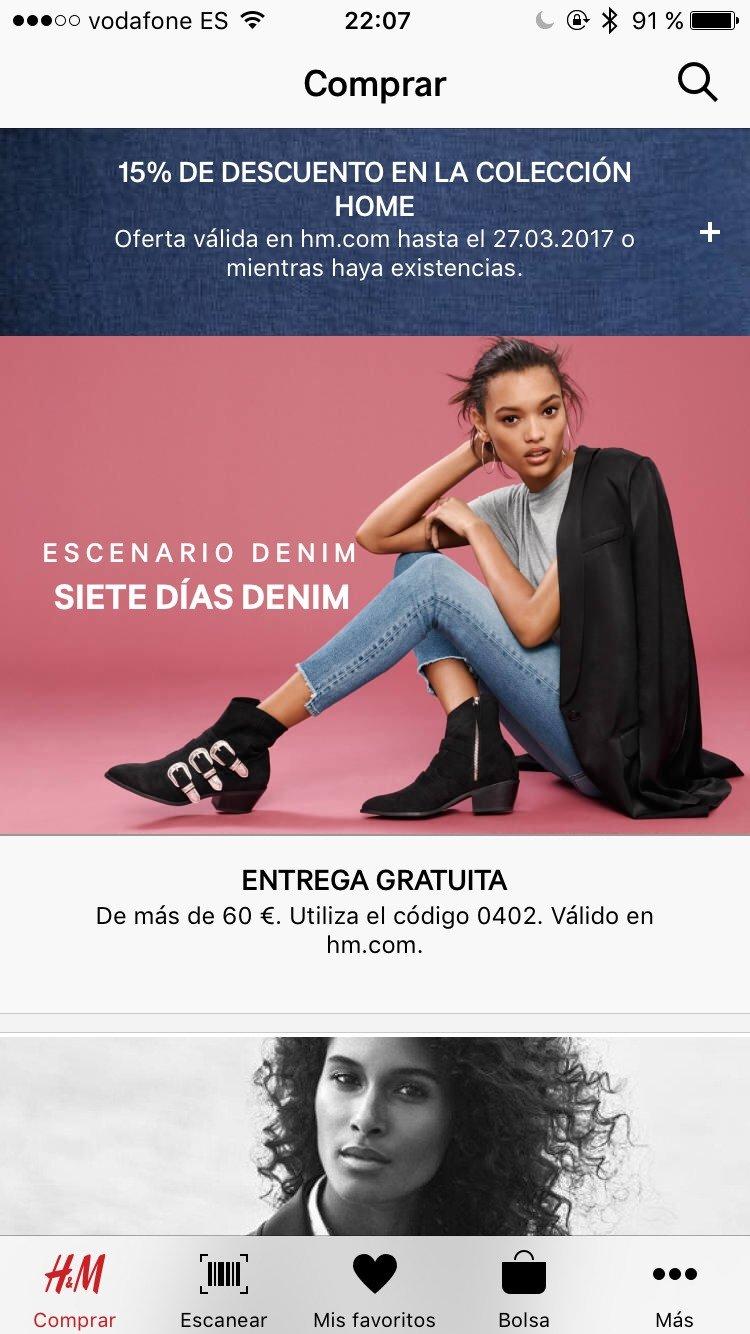 H&M App iPhone image 7
