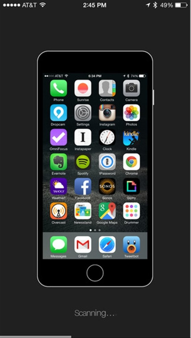 #Homescreen iPhone image 3