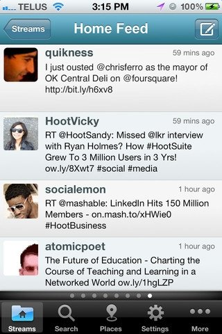 HootSuite iPhone image 5