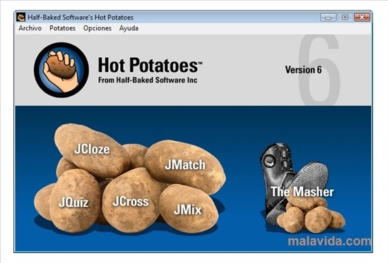 Hot Potatoes 6.3.0.5