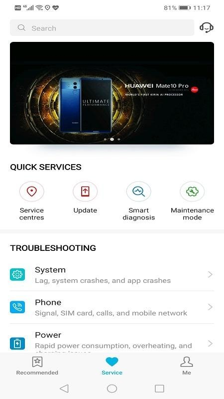 Huawei Smart diagnosis 10 0 0 311 - Download for Android APK