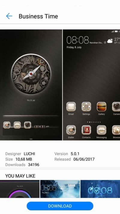 Huawei Themes 9 0 6 306 - Download for Android APK Free