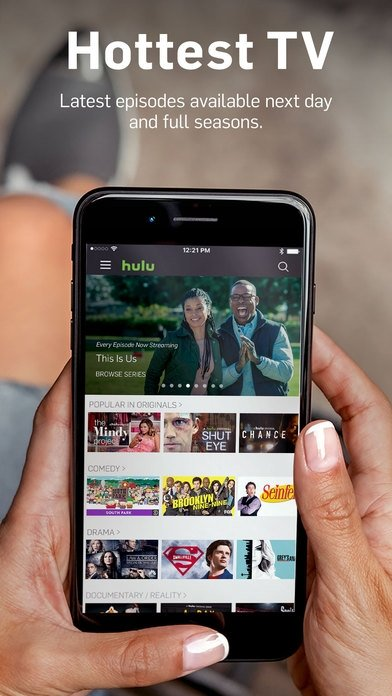 Hulu: Watch TV Shows & Stream the Latest Movies iPhone image 5