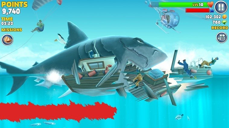 gioco hungry shark