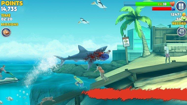 GIOCO HUNGRY SHARK SCARICA