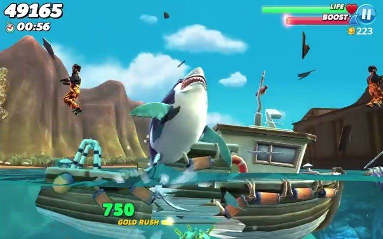 hungry shark world apk cheat download