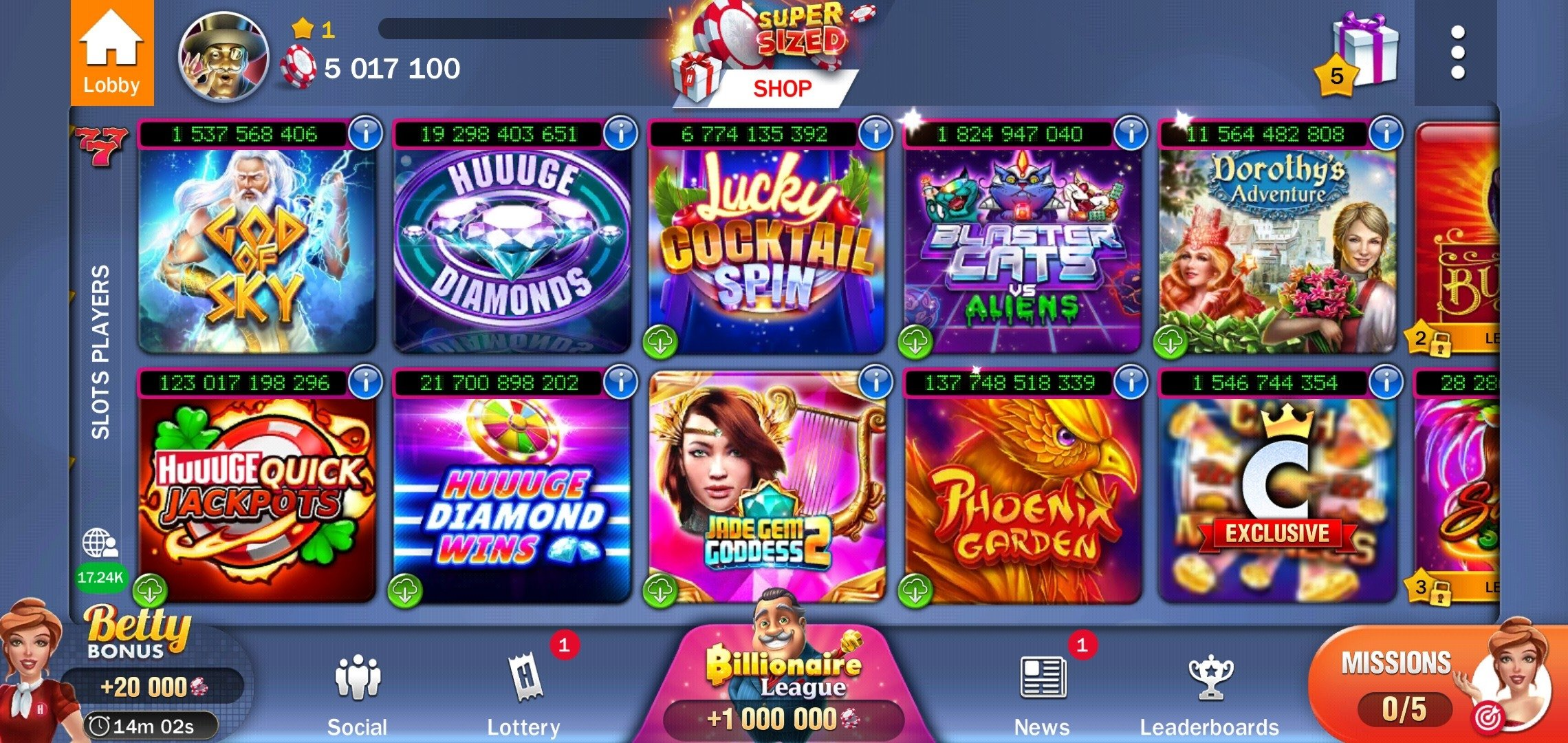 Huuuge Casino Slots 5 0 1701 Download For Android Apk Free