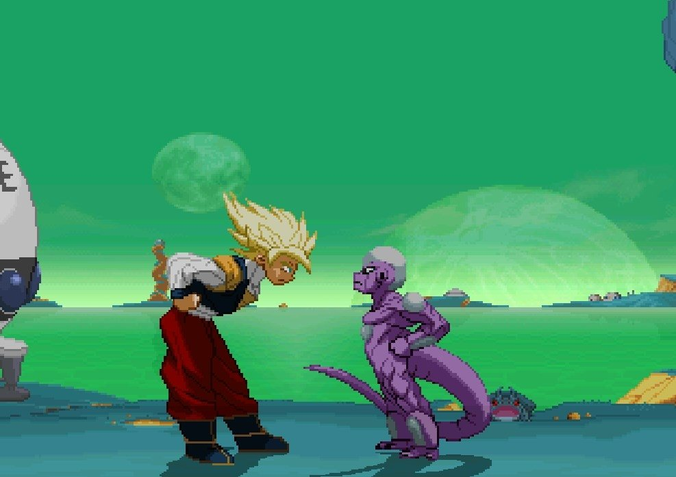 Descargar hyper dragonball z para pc gratis for Chambre dragon ball z