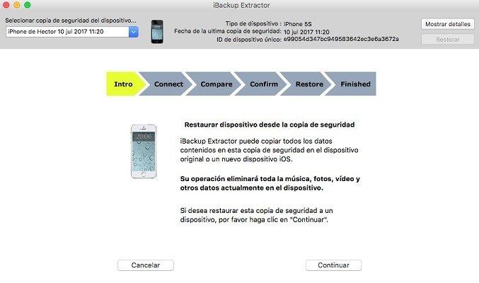iBackup Extractor Mac image 5