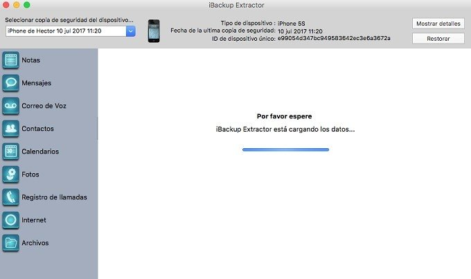 iBackup Extractor 2 18 - Download for Mac Free