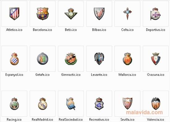 Spanish La Liga Icons image 2