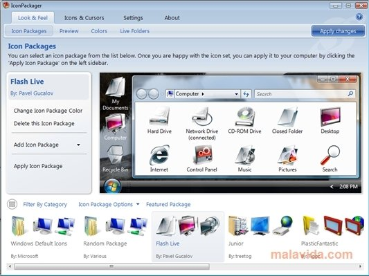 IconPackager image 5