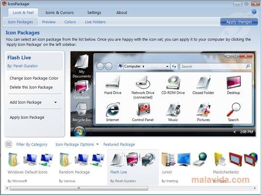 uninstall icon packager téléchargement gratuit