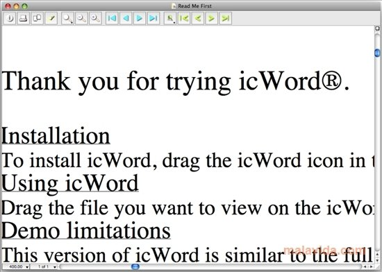 icWord Mac image 4