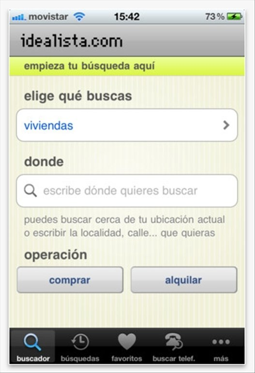 idealista iPhone image 5