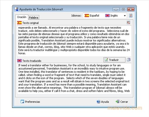 IdiomaX Translation Assistant image 4