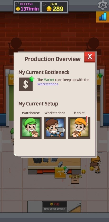 Idle Factory Tycoon 1 58 0 - Download for Android APK Free
