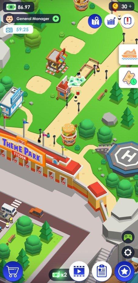 Idle Theme Park Tycoon 1 23 - Télécharger pour Android APK Gratuitement