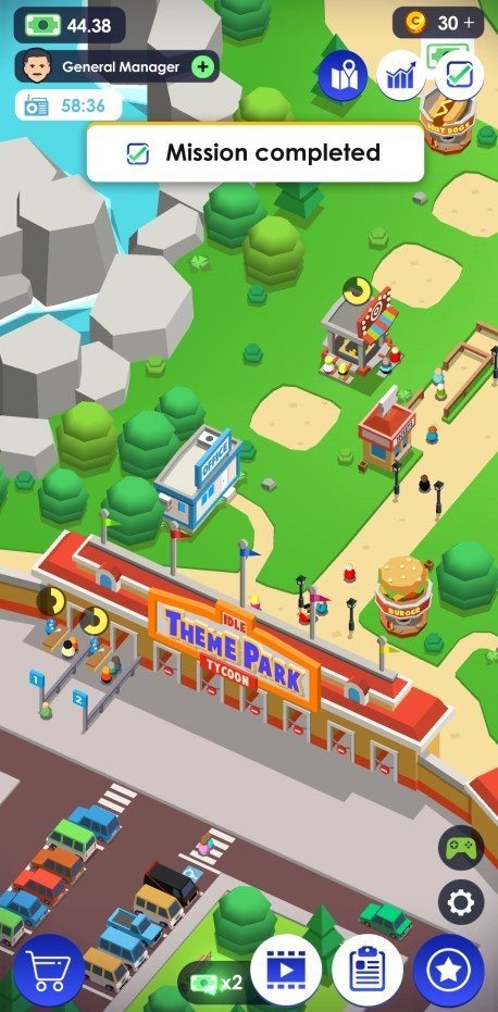 Idle Theme Park Tycoon 1 23 - Download for Android APK Free