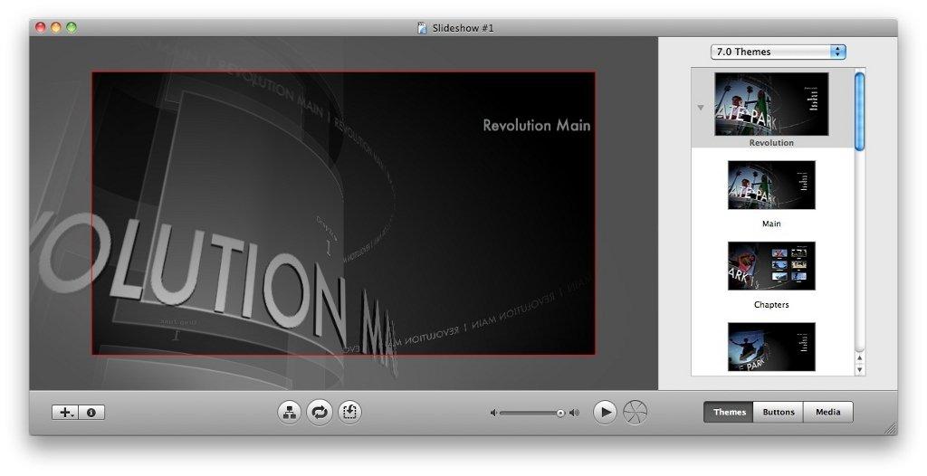 iDVD Mac image 4