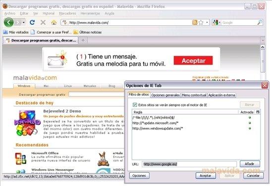 download ie tab