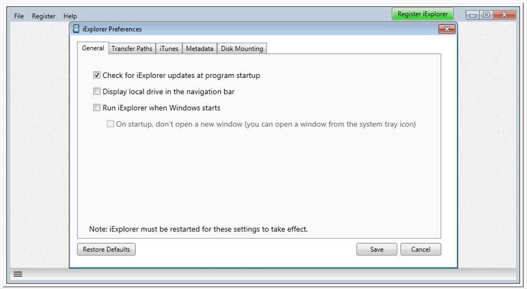 iExplorer 4 2 1 - Download for PC Free