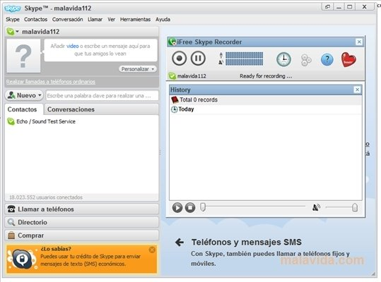 iFree Skype Recorder image 3