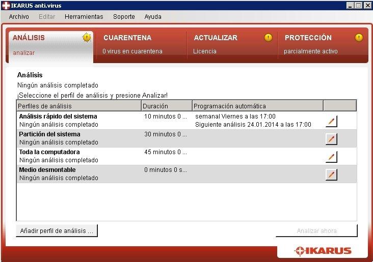 IKARUS Antivirus image 5