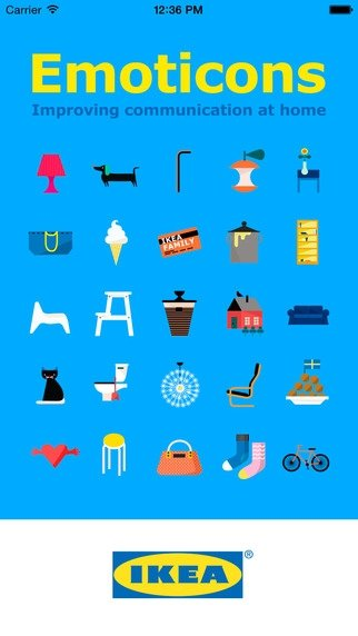 IKEA Emoticons iPhone image 5