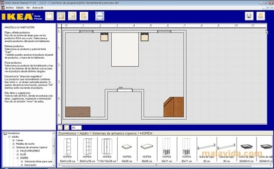 ikea home planner 2 0 3 download for pc free. Black Bedroom Furniture Sets. Home Design Ideas