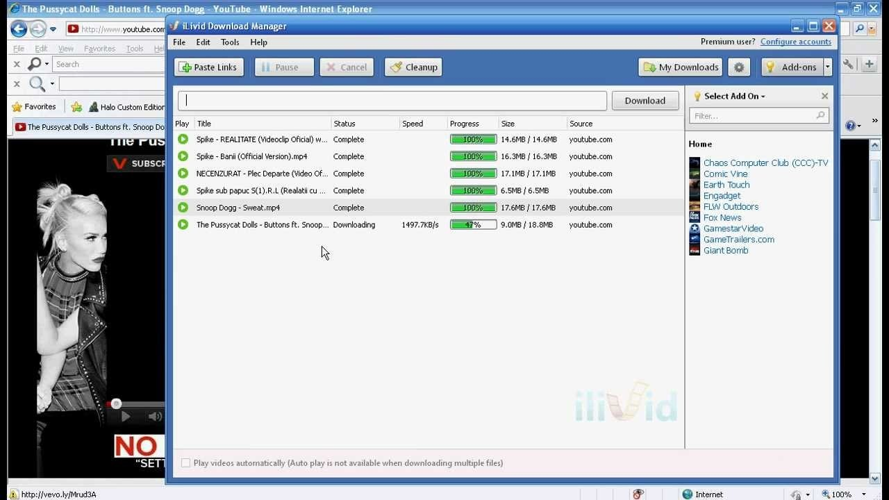 Ilivid download manager latest version 2019 free download.