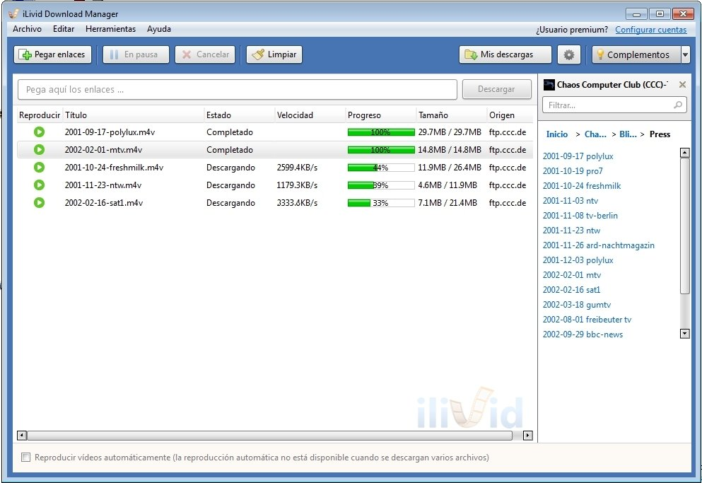 ilivid download manager francais gratuit