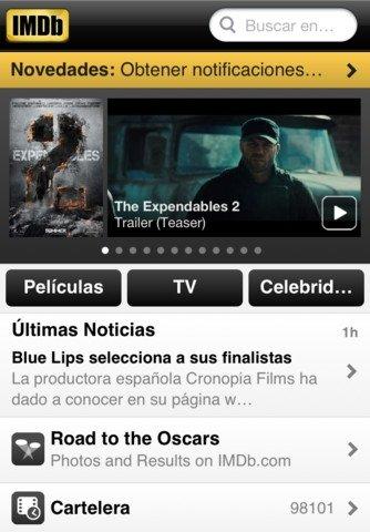 IMDb iPhone image 5