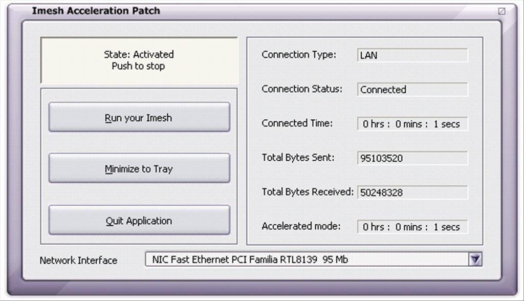 Imesh Acceleration Patch image 2