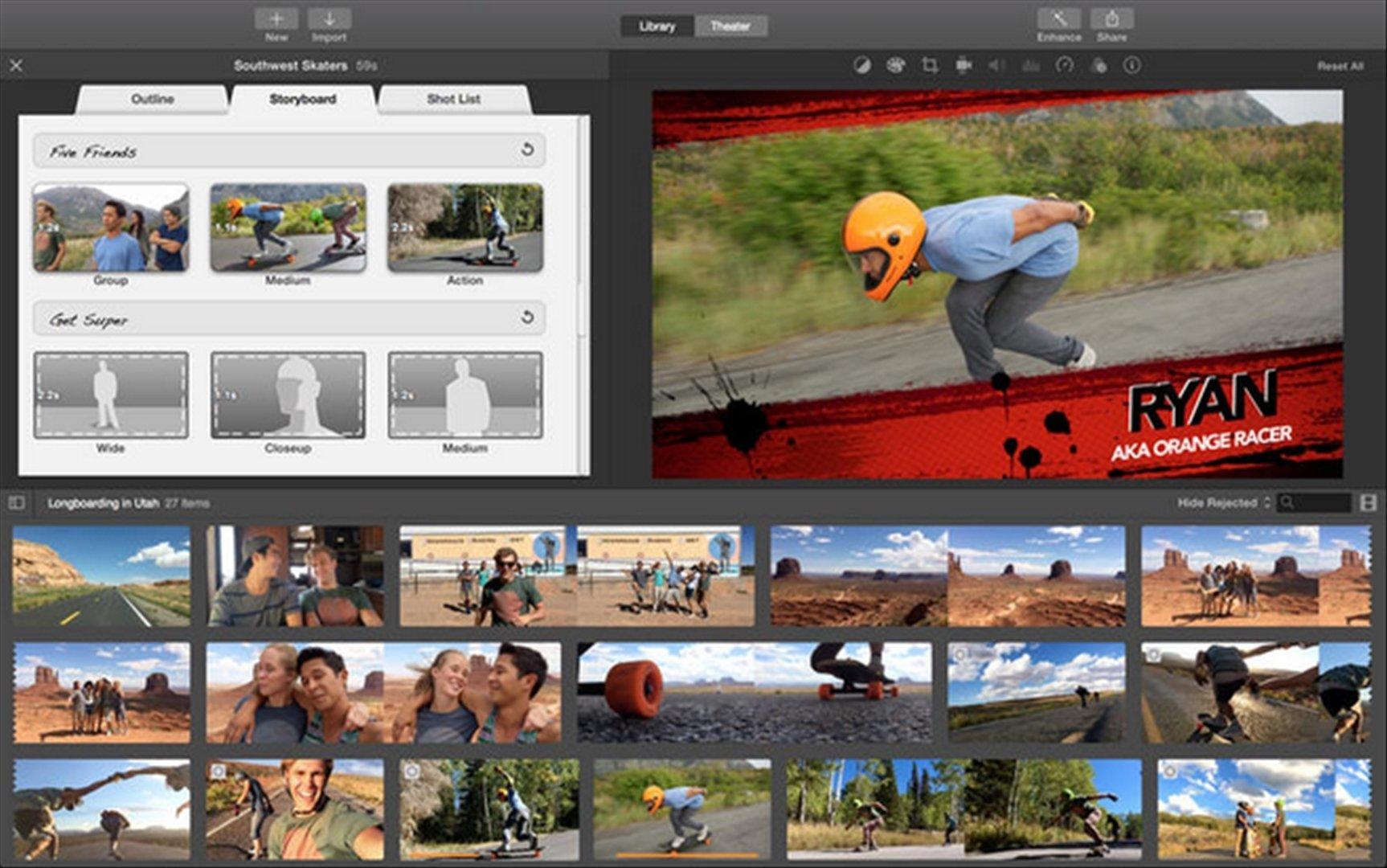 iMovie 10.1.8 - Descargar para Mac Gratis