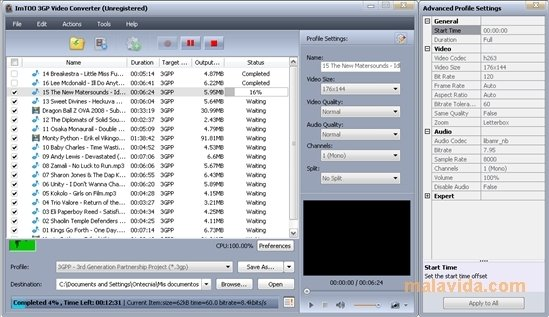 all video files to 3gp converter free download