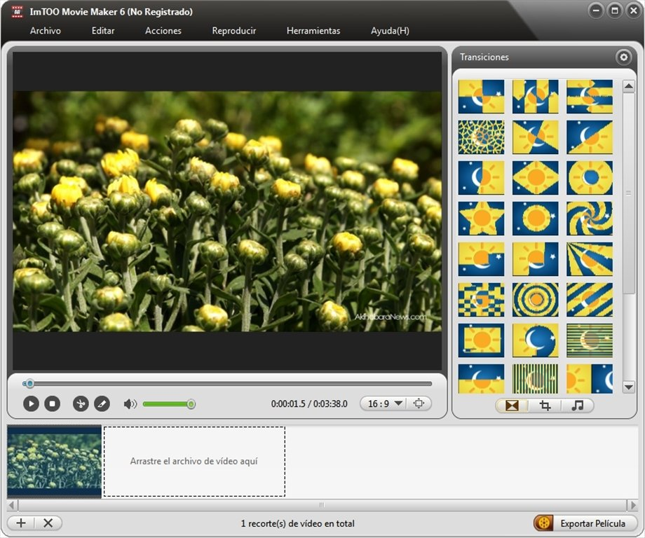 ImTOO Movie Maker image 6