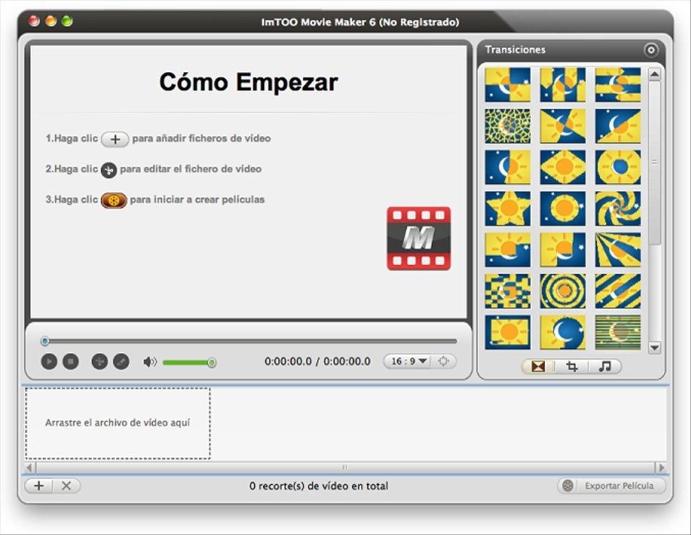 ImTOO Movie Maker Mac image 6