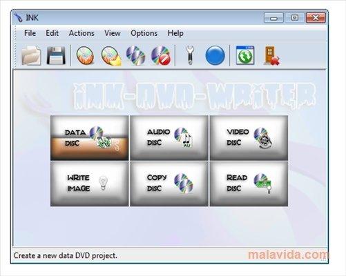 Ink DVD-Writer image 4