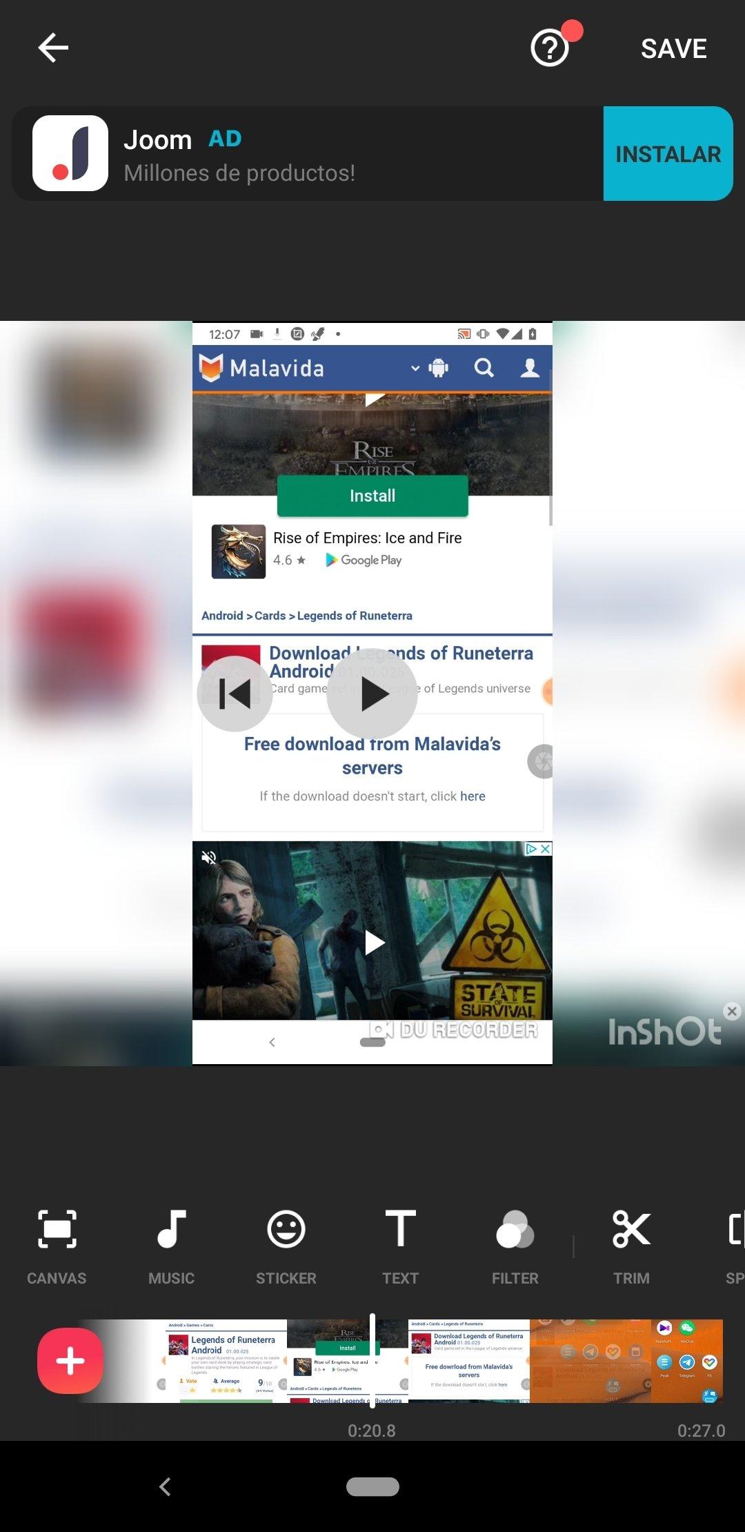 InShot - Éditeur Vidéo & Photo Android image 8