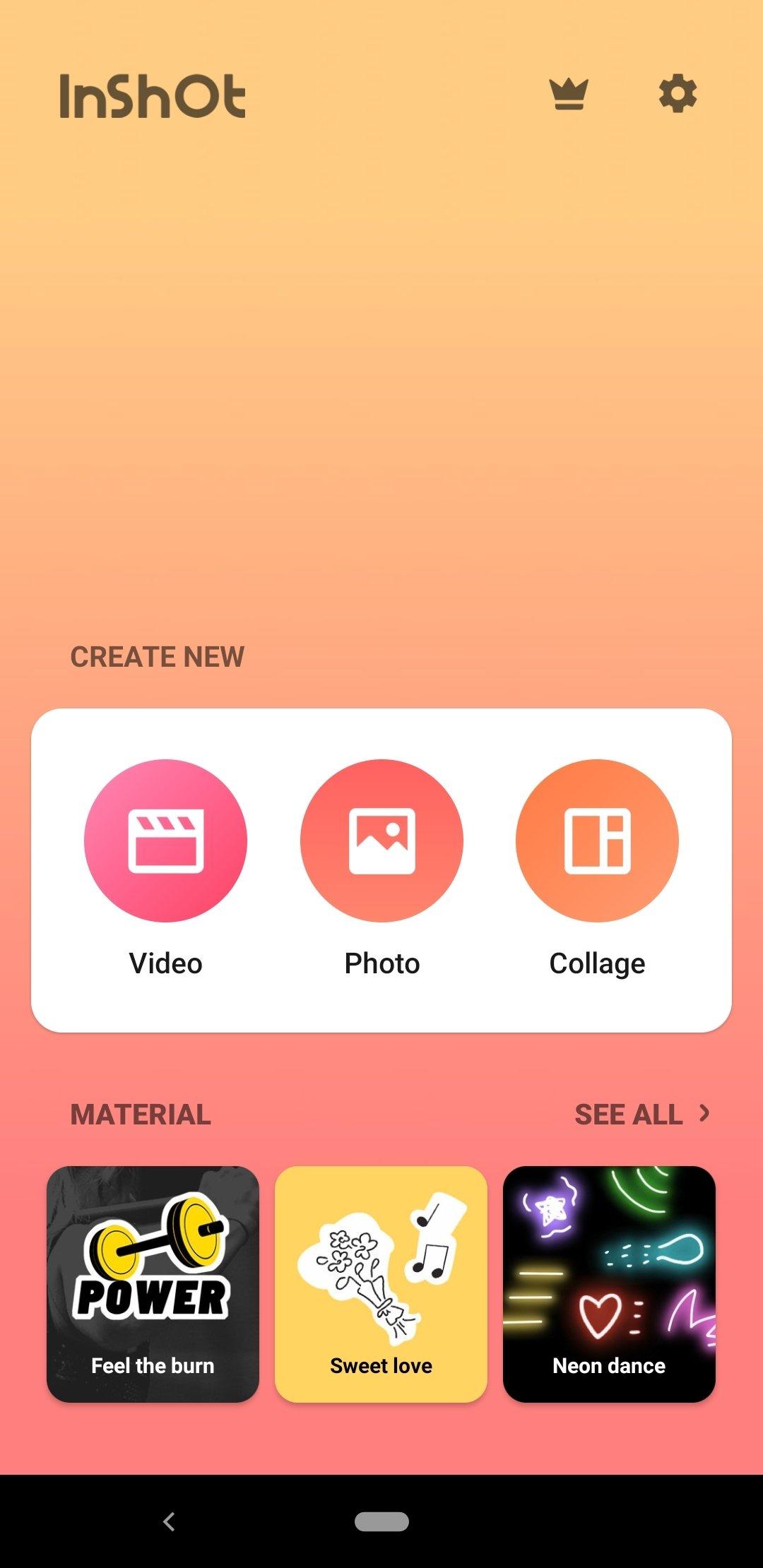 descargar inshot - editor de v u00eddeo y foto m u00fasica 1 524 190 android