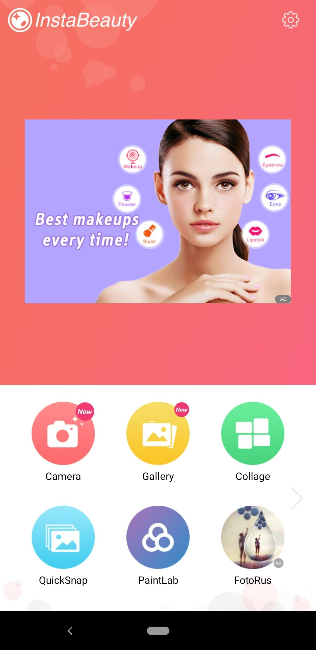 InstaBeauty - Selfie Camera Android image 6