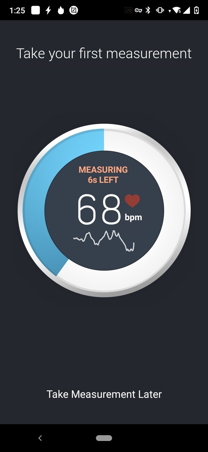 Instant Heart Rate Android image 5