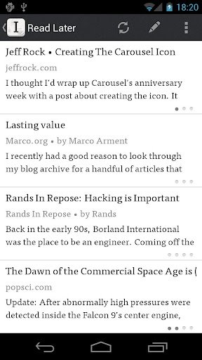 Instapaper Android image 8