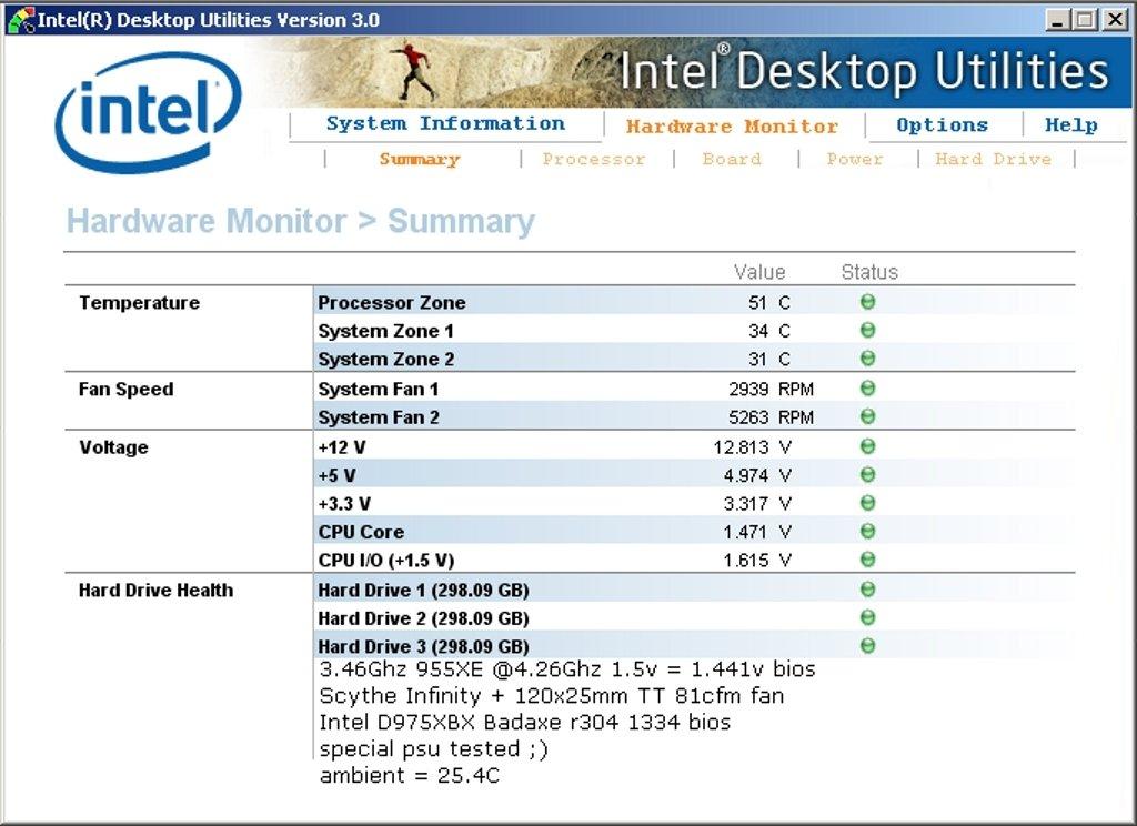 Intel Desktop Utilities image 2