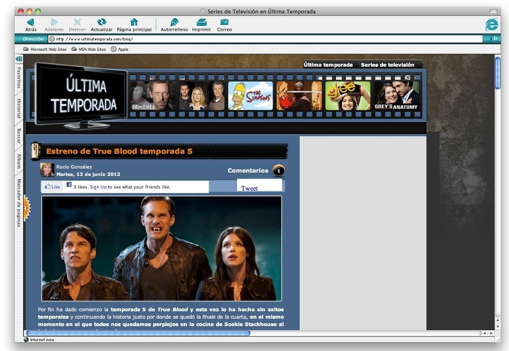 Internet Explorer 5.2.3