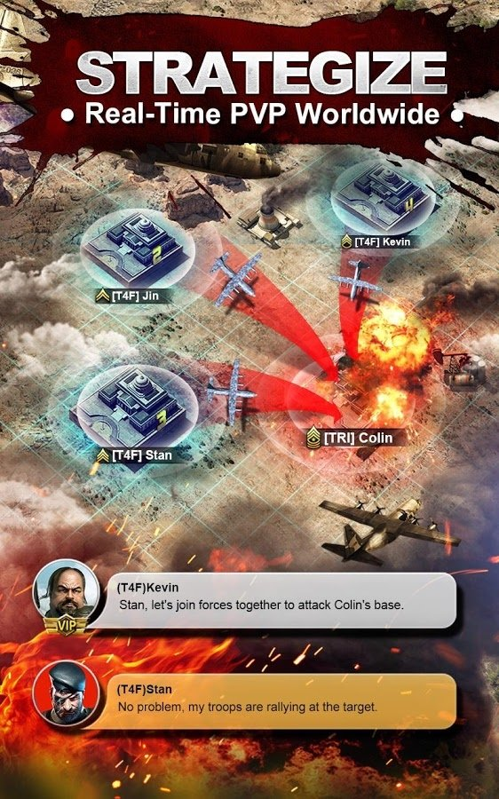 Invasion: Online War Game Android image 5
