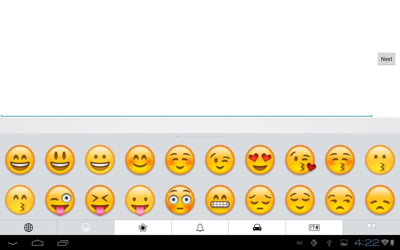 how to show emoji on keyboard