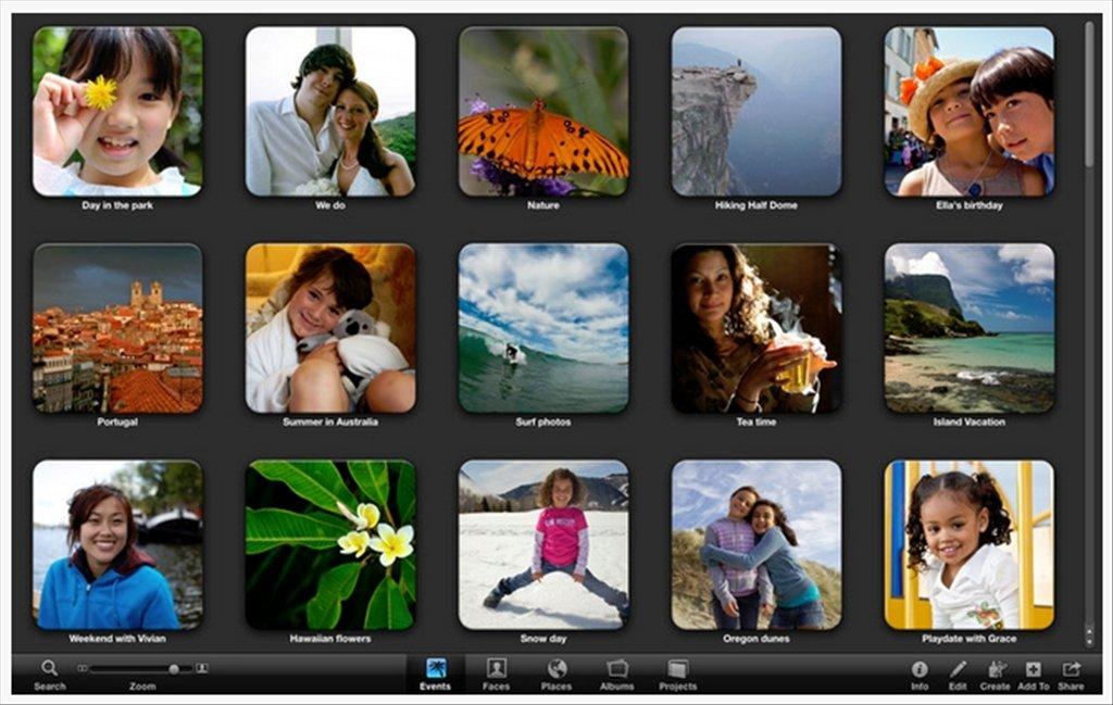 iPhoto Mac image 5